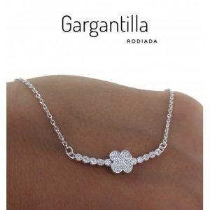 23824-300x300 Gargantilla rodiada flor circonitas