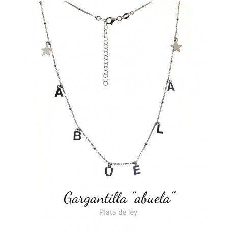 33924 Gargantilla cadena combinada abuela