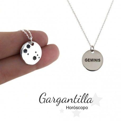 33982-1 Gargantilla horóscopo Géminis