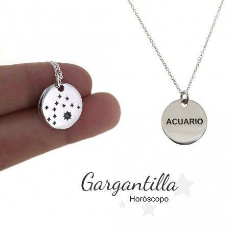 33983 Gargantilla horóscopo Acuario