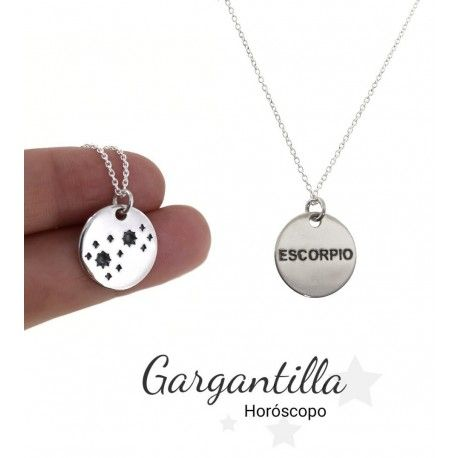 33988 Gargantilla horóscopo Escorpio