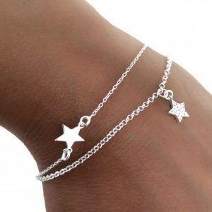34150-300x300 Pulsera doble cadena estrellas