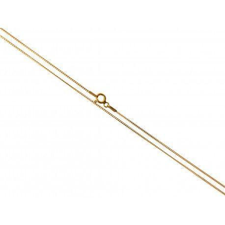 34156.2 Cadena 40 cm chapada barbada