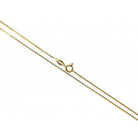 34160.2 Cadena 45 cm chapada veneciana