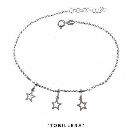 34259 Tobillera estrellas caladas