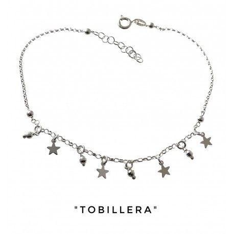 34263 Tobillera bolas estrellas