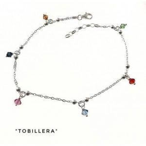 34277-300x300 Tobillera cadena bolas piedras color