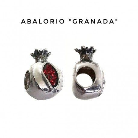 34380 Colgante granada abalorio