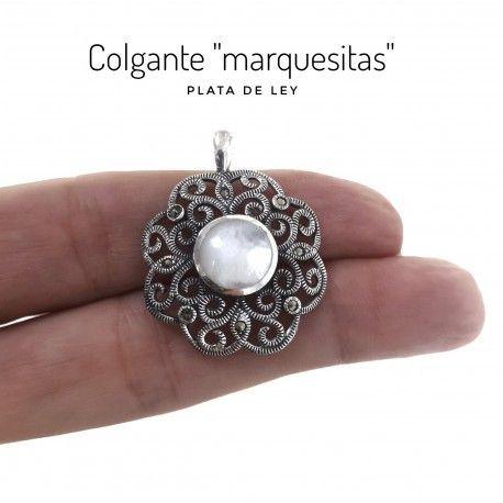 30868 Colgante marquesitas nacar