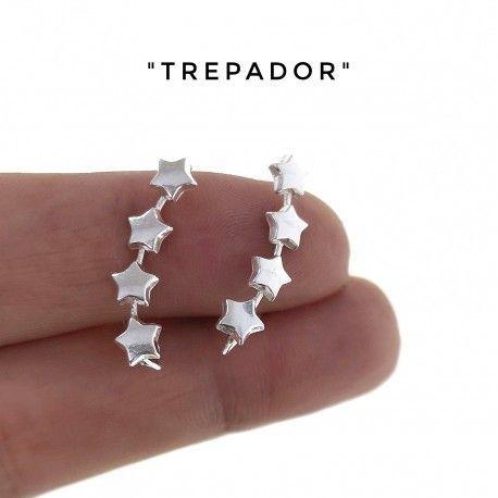 34363 Pendiente trepador estrellas