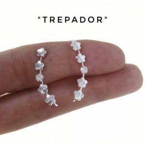 34396-300x300 Pendiente trepador circonita flor