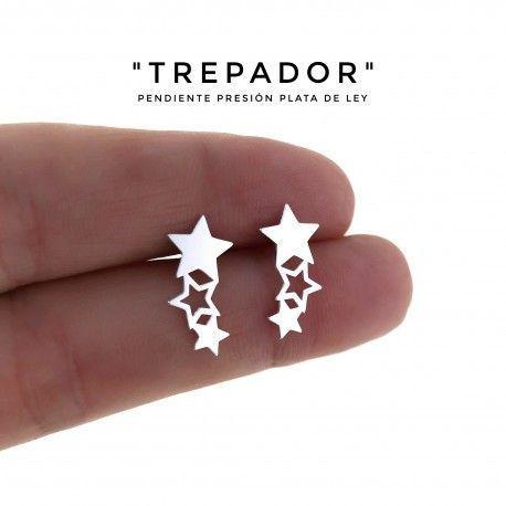 34410 Pendiente estrellas trepador