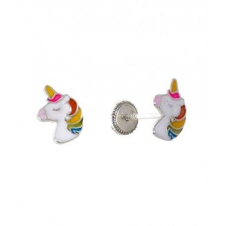 34430.2 Pendiente infantil unicornio