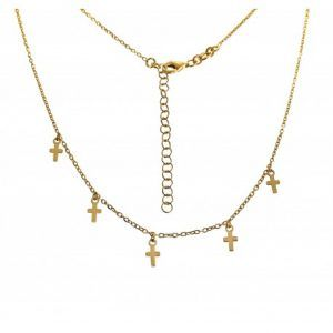 34441-300x300 Gargantilla cruces colgando chapada