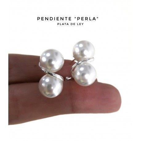 34461 Pendiente omega perla