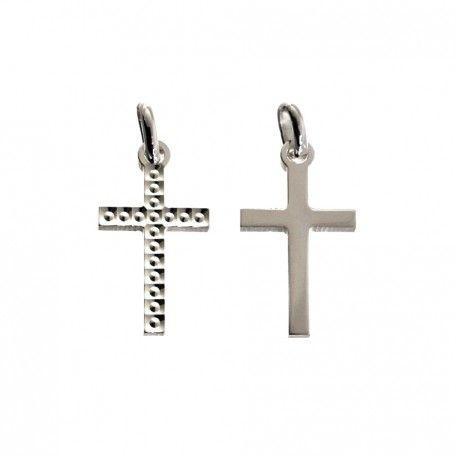 34470 Colgante cruz tallada