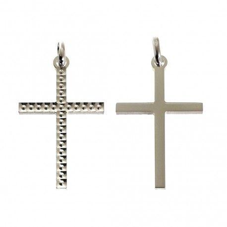 34471.2 Colgante cruz tallada