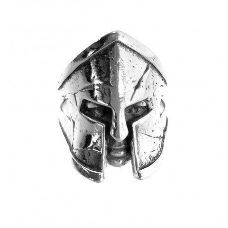 34485.3 Anillo caballero casco espartano