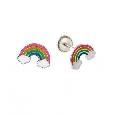 34583 Pendiente infantil arcoíris