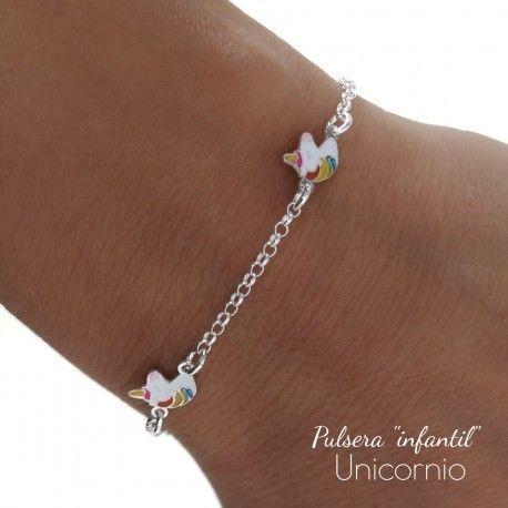34619 Pulsera infantil unicornio