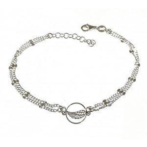 34680-300x300 Pulsera doble cadena alas