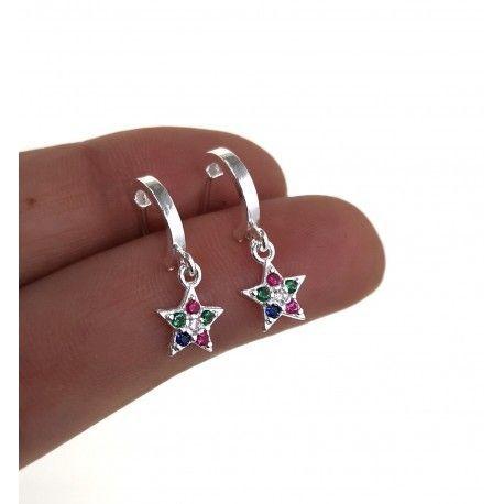 34772.3 Aro estrella multicolor