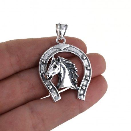 34785.2 Colgante herradura caballo
