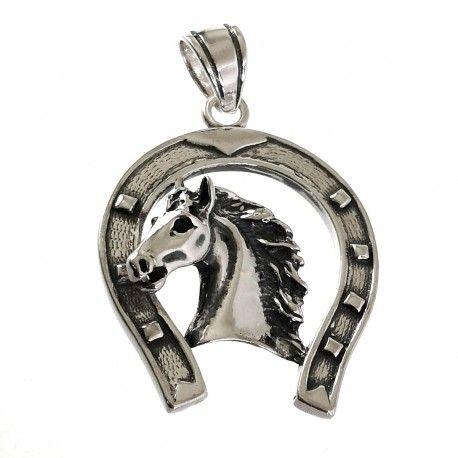 34785 Colgante herradura caballo