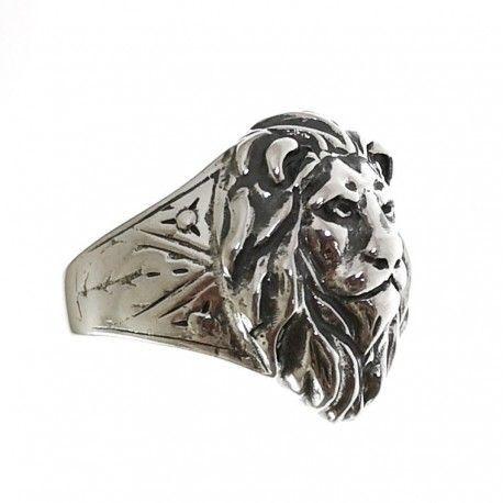 34790.2 Anillo cabeza león