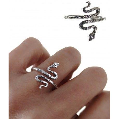 34792 Anillo serpiente oxidado