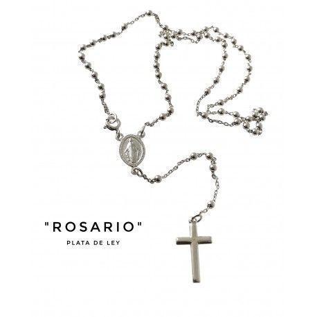 34059 Rosario Virgen Milagrosa bolas 3 mm