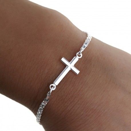 34695 Pulsera cruz cadena bismarck