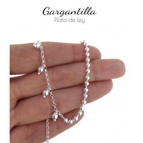 34829.2 Gargantilla cadena rolo bolas