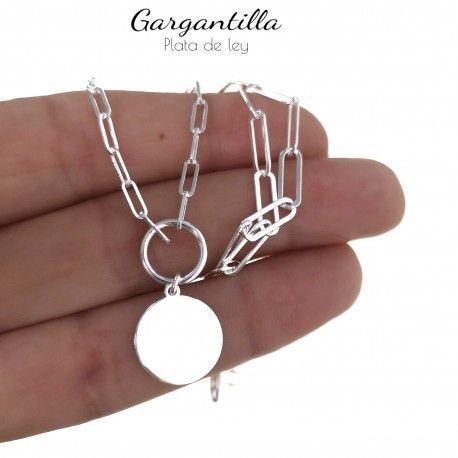 34833.2 Gargantilla cadena forzada disco