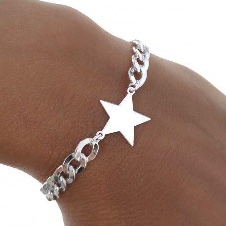 34847 Pulsera barbada estrella