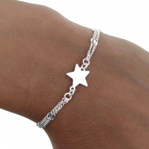 34850-300x300 Pulsera doble cadena estrella