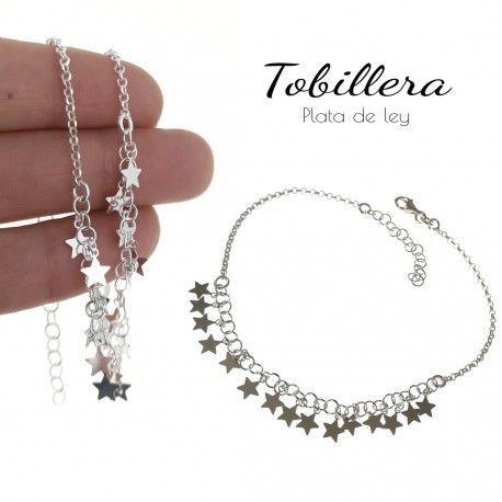 34858 Tobillera estrellas colgando