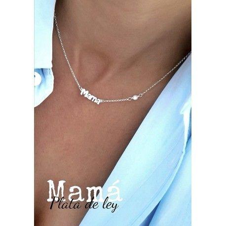 34876 Gargantilla mamá perla