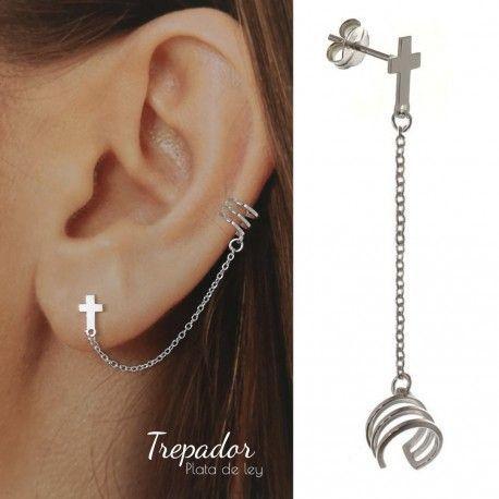 34881 Trepador cadena cruz (Medio par)