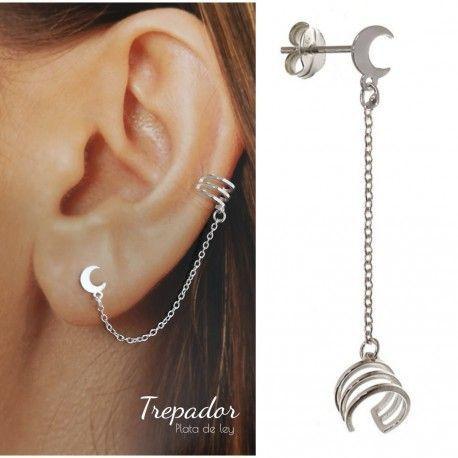 34883 Trepador cadena luna (Medio par)