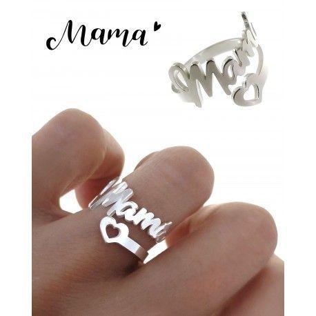 34893 Anillo mamá corazón